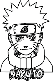 Coloring Pages Naruto Coloring Pages Printable Easy Shippuden
