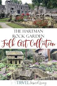 the hartman rock garden folk art collection is located in springfield ohio a short drive from columbus or cincinnati this gem is free and a must see