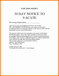 30 notice to vacate letter tenant florida lettercard co