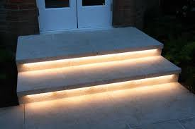 under stairs lighting. Under Stairs Lighting. Rigid Bar Strip Lights The Steps Outsidr . No More Tripping Lighting T