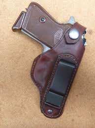type b over hammer strap iwb clip leather holster for walther ppk from makeitjones co uk custom designs worldwide all that sort of thing