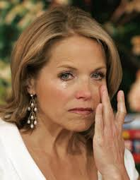 Katie Couric Puts on a Sunny Face for CBS - katie_couric_lastday_cap_12