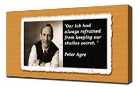 Amazon.com: Peter Agre Quotes 1 - Canvas Art Print: Posters & Prints via Relatably.com