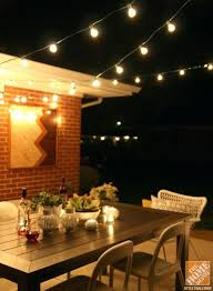 home depot outdoor light fixtures also a patio with outdoor string lights is the perfect spot