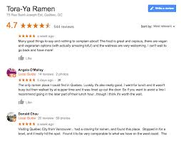 restaurant review examples 5 tips to rock google my business