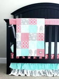 purple zebra crib bedding set nursery baby girl bed sets mint gold ruffle full size