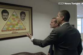 Ron Swanson Tells Ajit Pai He Has No Honor For Killing Net