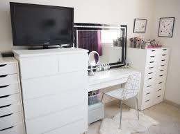 Makeup Dresser My Make Up Storage Vanity Bedroom Tour Expat Make Up Addict