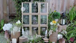 Clear Glass Seating Chart