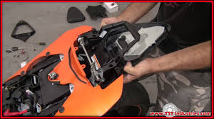 diy installation of integrated tail light by tst industries on 2008 2009 Yamaha R6 Wiring-Diagram at Yamaha R6 2010 Tail Light Wiring Diagram