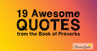 Awesome Quotes Gorgeous 48 Awesome Quotes From The Book Of Proverbs ChristianQuotes