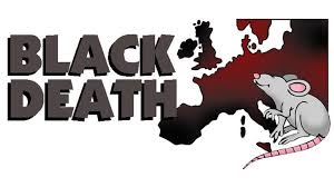 Image result for black death images cartoon