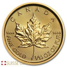 2019 1 10 Oz Canadian Maple Leaf Gold Coin