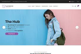 tamplate hub bootstrap 4 e commerce template 24 pages 6 colours