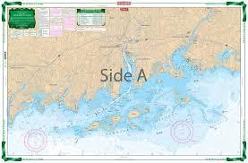 Long Island Sound New Rochelle To Norwalk Large Print Navigation Chart 26e