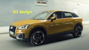 Q2 Design Das Audi Q2 Exterieur Design