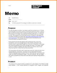 Memo Examples Business Template