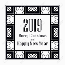 Art Deco Border Designs Art Deco Border And Frame Merry Christmas And Happy New Year