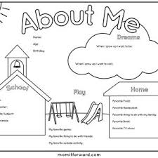 Small Picture All About Me Coloring Pages Az Ringggrrt adult