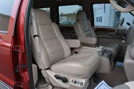 ford leather seat covers 2002 used ford excursion no rust sel 7 3l turbocharged 3rd of
