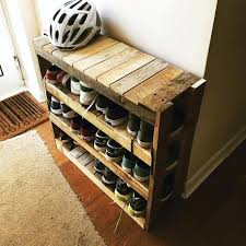 shoe rack ideas for home awesome furniture pallet projects you can for your home a shoe