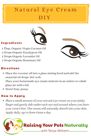 best diy natural eye cream for wrinkles dark circles and bags natural ways to