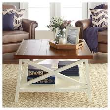 Superb Larkspur Large Coffee Table   Off White Idea