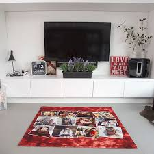 collage rug family photos personalized rugs you design