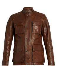 belstaff trailmaster waxed leather biker jacket brown mens david beckham belstaff book belstaff jacket factory reliable quality