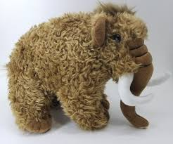 11in wooly mammoth plush stuffed toy by fiesta toys ebay