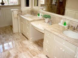 crema marfil marble bathroom with built in medicine cabinet regard to countertop plan 16