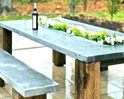 concrete top outdoor dining table concrete top round dining table round concrete table top concrete top concrete top outdoor dining table