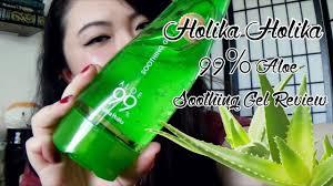 <b>Holika Holika 99</b>% <b>Aloe</b> Soothing Gel Review - YouTube