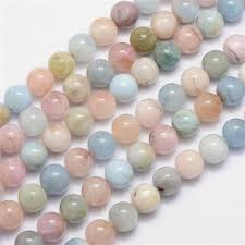 China Factory Natural Morganite Round Bead Strands 10mm, Hole ...