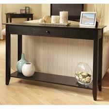 Modern Black Sofa Table Console Wayfair With Concept Design