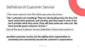 Define Customer Service Definition Excellent Customer Service Magdalene Project Org