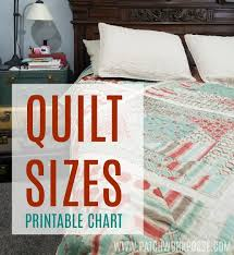 Bedspread Size Chart Quilt Sizes How To Measure Your Bed Patchwork Posse