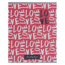 <b>Тетрадь</b> 48 листов клетка <b>Love</b>, бумажная обложка, офсет №2 ...