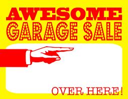 Diy Printable Awesome Garage Sale Signs