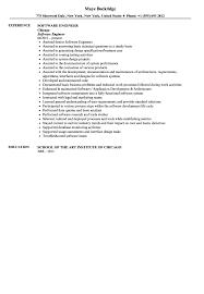 Software Engineer Resume Sample Velvet Jobs