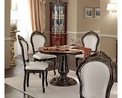 marvelous italian lacquer dining room furniture. Classic Style Dining Set W Round Table Made In Italy 33D494 Marvelous Italian Lacquer Room Furniture U