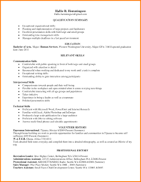 Resume Leadership Skills Onple Ledger Paper Images Doc Strong