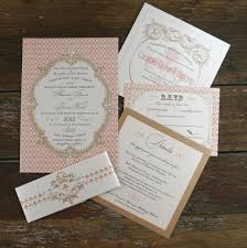 Baroque Wedding Invitations French Baroque Wedding Invitation Sets Fleur De Lis Wedding Invites