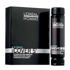 l oréal professionnel homme cover 5 hair colour ammonia free 3 x 50ml feelunique