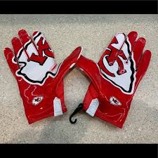 Nike Nfl Stadium Gloves Size Chart Nike Vapor Knit Nfl Kansas City Football Gloves Xl