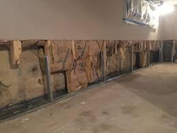 bat waterproofing everlast half wall framing