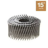 collated nails 15 degree coil 304