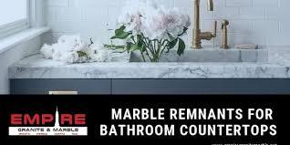 marble remnants for bathroom countertops