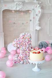 Amazoncom Ofila Baby Girls 1st Birthday Backdrop 3x5ft Cake Smash