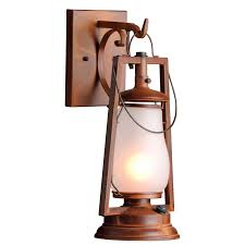 rustic lighting made to order in america 49er series wall mount lantern